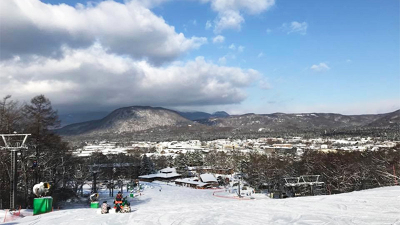 軽井沢 プリンス ホテル スキー 場